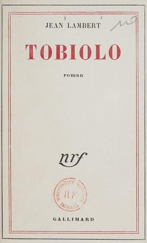 Téléchargez le livre :  Tobiolo