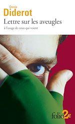 Télécharger le livre :  Lettres sur les aveugles à l'usage de ceux qui voient