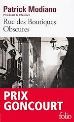 Télécharger le livre :  Rue des Boutiques Obscures