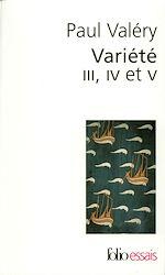 Télécharger le livre :  Variété III, IV et V