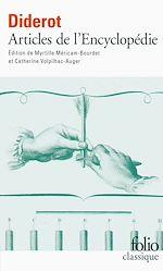 Télécharger le livre :  Articles de l'Encyclopédie (édition enrichie)