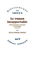 Télécharger le livre :  Le Roman insupportable