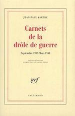 Télécharger le livre :  Carnets de la drôle de guerre (Septembre 1939 - Mars 1940)