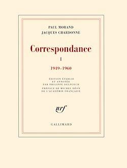 Téléchargez le livre numérique:  Correspondance (Tome 1 : 1949-1960)