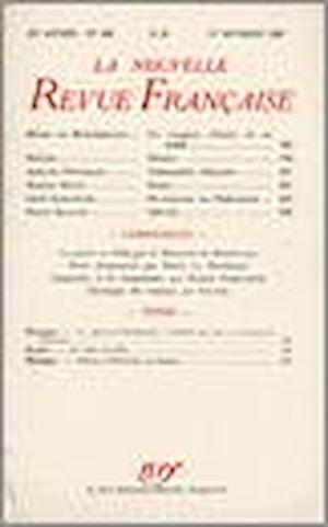 Téléchargez le livre :  La Nouvelle Revue Française N' 344 (Octobre 1942)