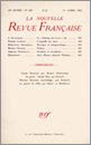 Téléchargez le livre :  La Nouvelle Revue Française N' 350 (Avril 1943)