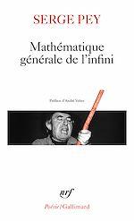 Télécharger le livre :  Mathématique générale de l'infini