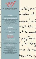 Télécharger le livre :  La Nouvelle Revue Française N° 629 (mars 2018)