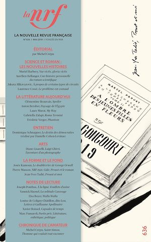 Téléchargez le livre :  La Nouvelle Revue Française N° 636