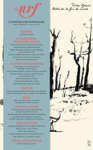 Téléchargez le livre :  La Nouvelle Revue Française N° 637