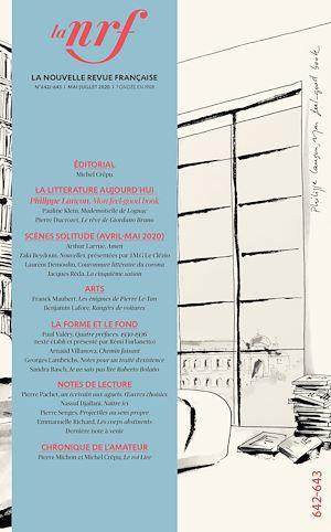 Téléchargez le livre :  La Nouvelle Revue Française N° 642