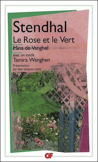 Télécharger le livre : Le Rose et le Vert - Mina de Vanghel suivis de Tamira Wanghen et autres fragments inédits