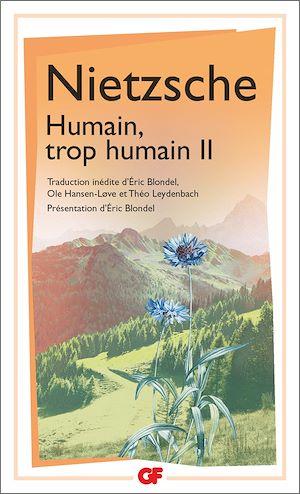 Téléchargez le livre :  Humain, trop humain (Tome 2)