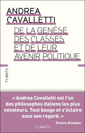 Téléchargez le livre :  De la genèse des classes et de leur avenir politique