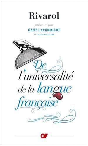 Téléchargez le livre :  De l'universalité de la langue française