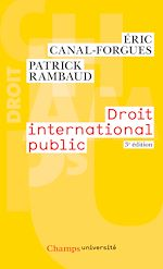 Télécharger le livre :  Droit international public