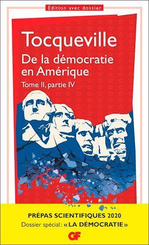 Téléchargez le livre :  De la démocratie en Amérique tome II partie IV - Prépas scientifiques 2019-2020 - GF