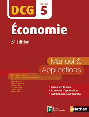 Téléchargez le livre :  Economie - DCG 5 - Manuel et applications