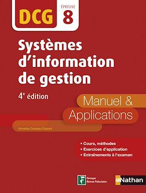 Téléchargez le livre :  Systèmes d'information de gestion - DCG 8 - Manuel et applications