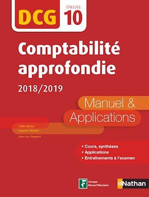 Téléchargez le livre :  Comptabilité approfondie - DCG 10 - Manuel et applications