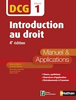 Télécharger cet ebook : DCG 1 - Introduction au Droit 2016/2017