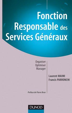 Téléchargez le livre :  Fonction : Responsable des services généraux
