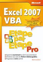 Télécharger le livre :  Excel 2007 VBA
