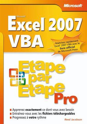 Téléchargez le livre :  Excel 2007 VBA