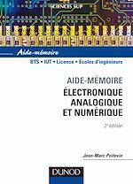 Télécharger le livre :  Aide-mémoire d'électronique analogique et numérique - 2ème édition