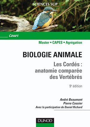 Téléchargez le livre :  Biologie animale - Les Cordés - 9e éd.