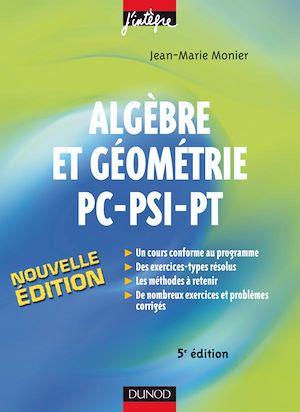 Téléchargez le livre :  Algèbre et Géométrie PC-PSI-PT - 5e éd.