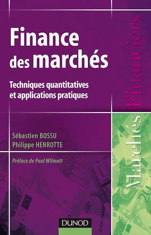 Téléchargez le livre :  Finance des marchés