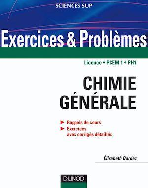 Téléchargez le livre :  Exercices et problèmes de chimie générale