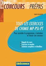 Télécharger le livre :  Tous les exercices de Chimie MP-PSI-PT