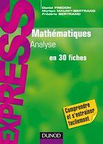 Télécharger le livre :  Mathématiques L1/L2 : Analyse