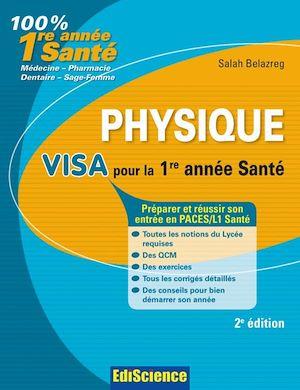 Téléchargez le livre :  Physique Visa pour la L1 Santé - 2e édition