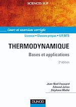 Télécharger le livre :  Thermodynamique - 2e éd.