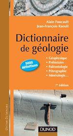 Télécharger le livre :  Dictionnaire de Géologie - 7e édition