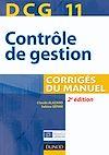 Téléchargez le livre numérique:  DCG 11 - Contrôle de gestion - 2e éd.