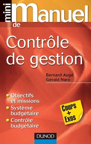 Téléchargez le livre :  Mini manuel de contrôle de gestion