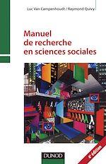 Télécharger le livre :  Manuel de recherche en sciences sociales - 4e edition