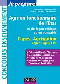 Agir en fonctionnaire de l'Etat et de façon éthique et responsable - Capes-Agreg-Capet...