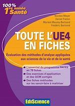 Télécharger le livre :  Toute l'UE4 en fiches - 1re année Santé - Evaluation des méthodes d'analyse