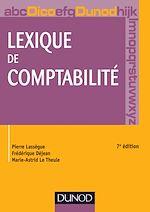 Télécharger le livre :  Lexique de comptabilité - 7e édition