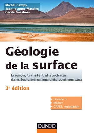 Téléchargez le livre :  Géologie de la surface - 3e éd.