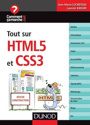 Téléchargez le livre :  Tout sur HTML5 et CSS3