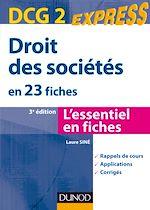 Télécharger le livre :  Droit des sociétés DCG 2 - 3e édition