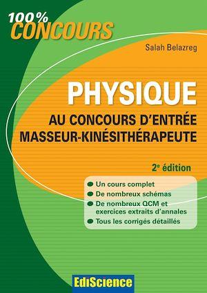 Téléchargez le livre :  Physique au concours d'entrée Masseur-Kinésithérapeute - 2e édition