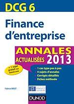 Télécharger le livre :  DCG 6 - Finance d'entreprise - 5e éd.