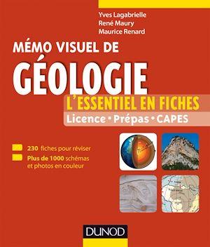 Téléchargez le livre :  Mémo visuel de géologie